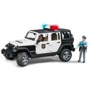 BRUDER® politieset met geluid 2-dlg., »Jeep Wrangler politiewagen en politieagent«