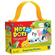 Learning Resources Hot Dots® Jr. Cards: Beginning Phonics Card Set