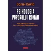 Psihologia poporului roman. Profilul psihologic al romanilor intr-o monografie cognitiv-experimentala