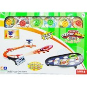 Olly Polly kids kids high quality imported Battling Tops Tournament Set for Kids Turbo Battle Tops Magnetically controlled Battling Tops Tournament Set for Kids Turbo Battle Tops Magnetically controlled spinning jumping desktop track gyro game plate game-