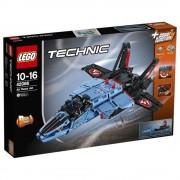 LEGO Technic 2 in 1, Avion cu reactie pentru curse 42066