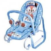 Бебешки шезлонг с гриф Top Relax, Lorelli, Blue Baby Fox, 0740229