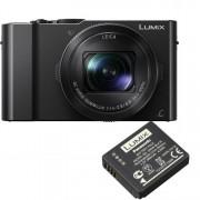 Panasonic Lumix DMC-LX15 zwart + DMW-BLH7 accu