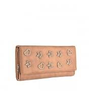Dámská béžová peněženka 9422