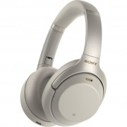 Casti audio Over-Ear SONY WH-1000XM3, Bluetooth, NFC, Microfon, Noise Cancelling, Silver
