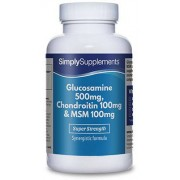 Simply Supplements Glucosamine-chondroitin-msm - Small