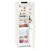 Combina frigorifica Liebherr CN 4835, 361 L, No Frost, Display, Control electronic, Raft sticle, SuperCool , Alarma usa, H 201 cm, A+++, Alb