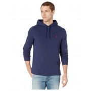 Polo Ralph Lauren Classic Fit Mesh Hooded Shirt Newport Navy