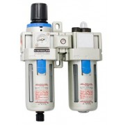 "Filtru regulator si ungator pneumatic 1/2"" - 1502 - UNIOR - 220 - 150"