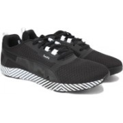 Puma Pulse Flex XT Graphic Wns Running Shoes For Women(Black)