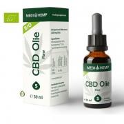 Medihemp Raw CBD olie 5% - 30ml