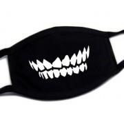 Ochranná maska na obličej 100% bavlna - Zuby