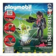 Playmobil Egon Spengler con Fantasma Playmobil Ghostbusters 20 Piezas