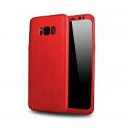 Husa Samsung Galaxy S8 Plus Full Cover 360 Silicon - Rosu