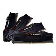 DDR4 32GB (4x8GB), DDR4 3200, CL14, DIMM 288-pin, G.Skill RipjawsV F4-3200C14Q-32GVK, 36mj