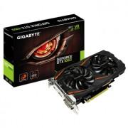 Placa video Gigabyte GeForce GTX 1060 WINDFORCE OC, 1582 (1797) MHz, 3GB GDDR5, 192-bit, 2x DL-DVI-D, HDMI, DP