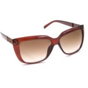 6by6 Cat-eye Sunglasses(Brown)