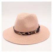 verano pajade Sol para dama elegante reina Floppy de ala ancha Bobo Sunbonnet playa Sombrero LANG(#Rosado)(#56-58CM)