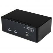 Startech Conmutador Switch KVM de 2 Puertos USB/DVI