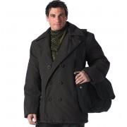 giacca uomo invernale ROTHCO - PEA COAT - BLACK - 7877