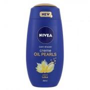 Nivea Creme Oil Pearls Lotus sprchový gel pro hebkou pokožku 250 ml pro ženy