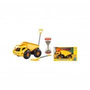 Camion arenero, incluye pala y reloj