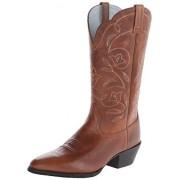 Ariat Women's Women's Heritage Western R Toe Boot, Russet Rebel, 8 C US