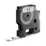 Dymo D1 DY45013 laminált feliratozószalag 12 mm fekete/fehér