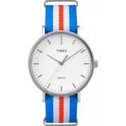 Ceas Unisex Timex Weekender TW2P91100 Blue-Silver