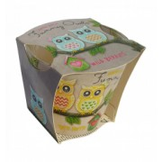 Lumanare Funny Owls Wild Berries 115 gr