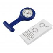 ER Mini Enfermeras Del Gel De Silicona Médico Portátiles Broche De Bolsillo De La Túnica Del Fob Del Reloj Azul Marino..