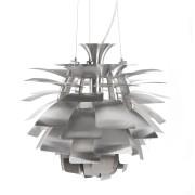 Hanglamp in de vorm van een artisjok 'SPIKE' uit geborsteld metaal