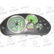 Dashboard Piaggio NRG MC3 Kleur: Zwart Tellers Groen
