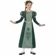 Costum Shrek Printesa Fiona copii 130 cm 6-7 ani
