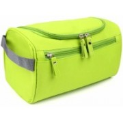 Styleys Hanging Fabric Travel Toiletry Bag Organizer and Dopp Kit storage Bag Travel Toiletry Kit(Green)