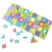 36pcs 0 9 Number A Z Letters Puzzle Mat Alphabet Puzzle Foam For Toddlers Kids Toys