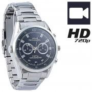 OctaCam HD-Kamera-Uhr VA-720 mit 720p-HD-Video interpoliert, 3 IR-LEDs, 8 GB