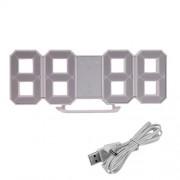 ELECTROPRIME® Digital Clock Alarm 12/24 Hours Clock Extra Bright Clock 3 Brightness Levels