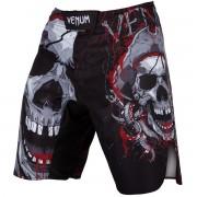 Pantaloni scurți box VENUM - Pirate - Black / Red - VENUM-03242-100