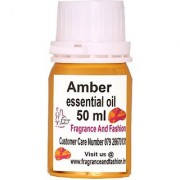Fragrance And Fashion Amber Essential Oil Of 50 Ml (50 Ml)