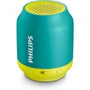 Портативна Bluetooth колонка Philips BT50A, цвят син/зелен