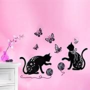 Autocolante decorative Pisici dragalase