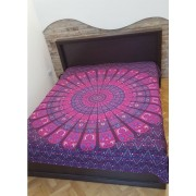 Indiai mandalás ágytakaró