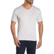 John Varvatos Star USA Short Sleeve V-Neck Shirt REFLECTION GREY