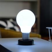 LOOOQS Push Lamp - Zwart - LOOOQS