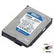 Hard Disk 250GB Western Digital Blue, SATA3, Cache 16MB, WD2500AAKX