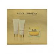 Dolce & Gabbana The One 75Ml Edp 75Ml + 50Ml Body Lotion + 50Ml Shower Gel Per Donna (Eau De Parfum)