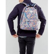 Pretty Green Paisley Logo Backpack - Multi