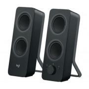 Hangszóró, 5W, Bluetooth, LOGITECH Z207, fekete (LGHZ207B)