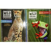 Wild Animal Kingdom Coloring & Activity Book (Assorted) Amazing Animals and / or Colorful Creatures
